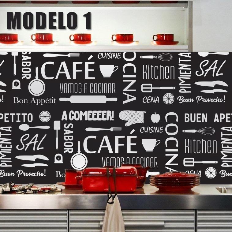Vinilo Decorativo Laminado Mural Pared Cocina Frases Guarda - $ 790 ...