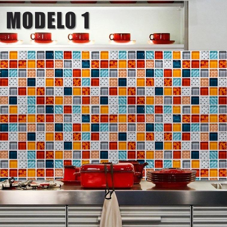 Vinilo Decorativo Laminado Venecitas Mural Pared Cocina - $ 790,00 ...