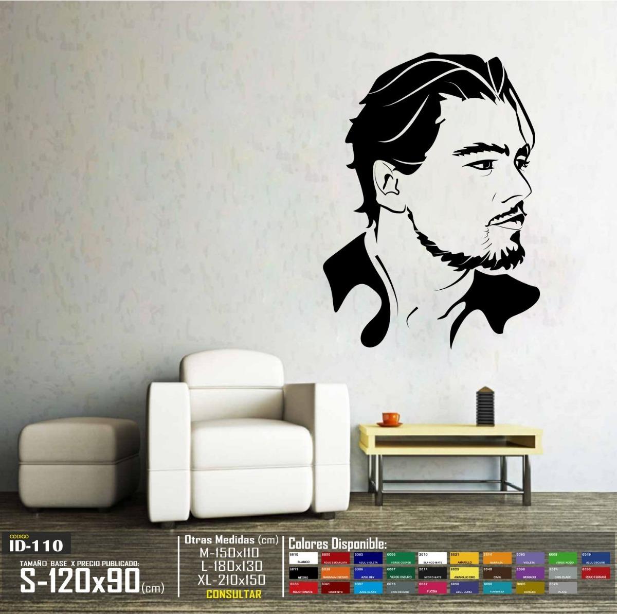 En Para Pared Libre Decorativo Sticker Mercado - Vinilo 78 00 Actor Leonardo S Dicaprio
