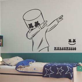 Vinilos Pared Habitacion Juvenil.Crash Juvenil Dormitorio Adornos Y Decoracion Del Hogar En