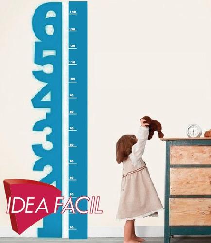 vinilo decorativo medidor infantil 40 b x 150 a