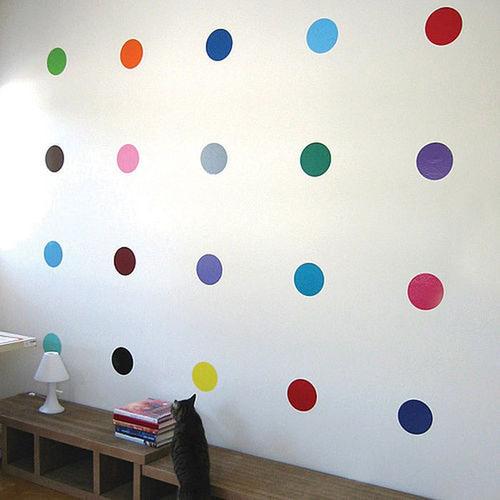 vinilo decorativo pack círculos de colores monvinyl
