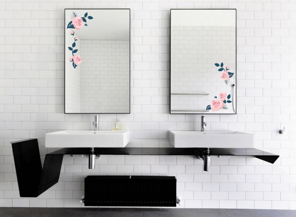 Vinilo decorativo para espejo ba o som hi en mercado libre - Vinilos para espejos ...