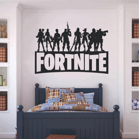 Vinilo Decorativo Pared Cuarto Infantil Fortnite 60 X 40cm