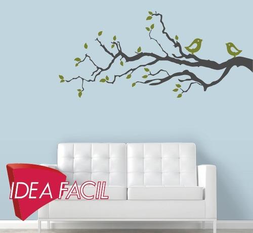 vinilo decorativo rama - 130 b x 60 a