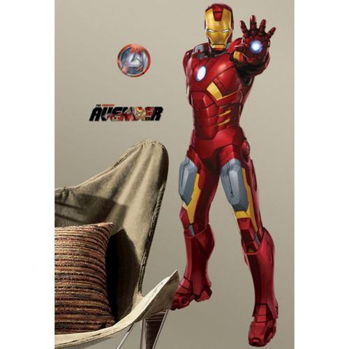 vinilo decorativo reutilizable avengers-iron man rmk1806gm