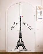 vinilo decorativo torre eiffel paris 100 cms