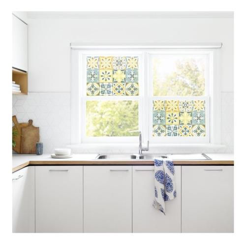 vinilo decorativo transparente traslúcido azulejos vitro