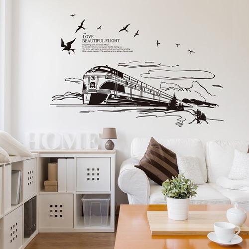 vinilo decorativo tren my7302mj