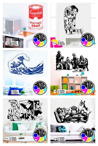 vinilo decorativo.catálogo arte.paredes.viniles.stickers
