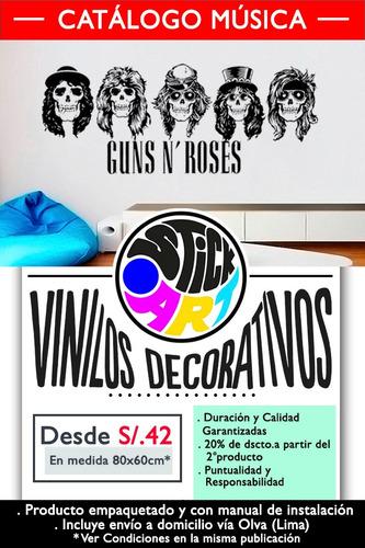 vinilo decorativo.catálogo música.paredes.viniles.stickers
