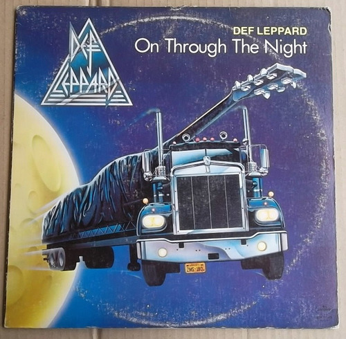 vinilo def leppard / on the trough the night