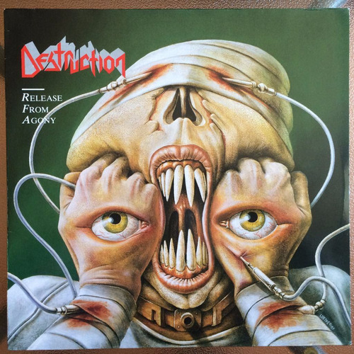 vinilo destruction - release from agony (1987)
