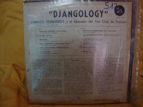 vinilo django el quinteto hot club de francia djangology p3