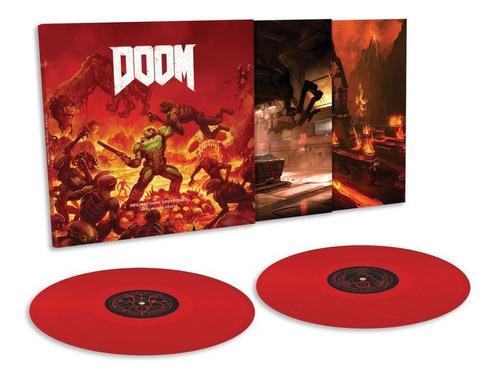 vinilo doble doom game original game soundtrack
