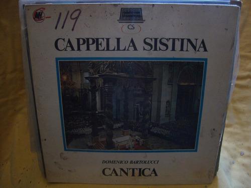 vinilo domenico bartolucci cantica cappella sistina p4