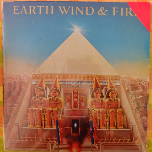 vinilo  earth wind &fire        all 'n al