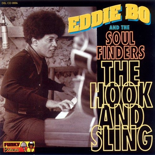 vinilo : eddie bo and the soul finders - the hook and sling.