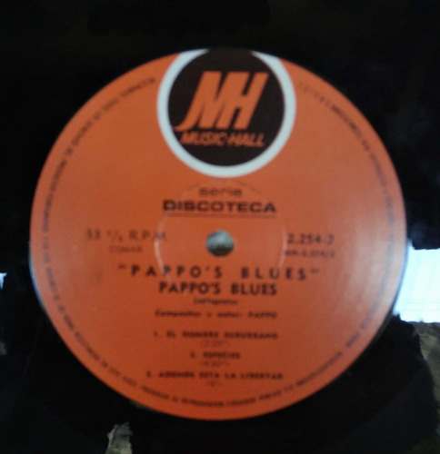vinilo edición original pappo´s blues vol. 1