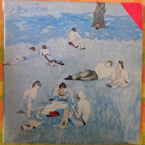 vinilo elton john blue moves    2lp