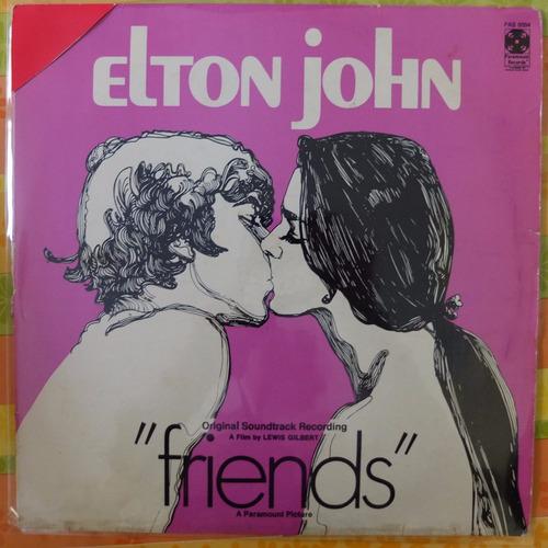 vinilo   elton john  friends