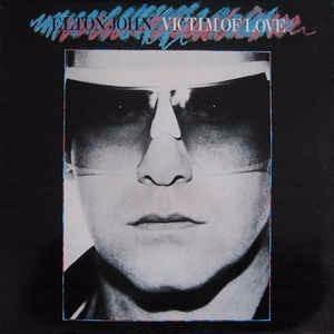vinilo  elton john / victim of love