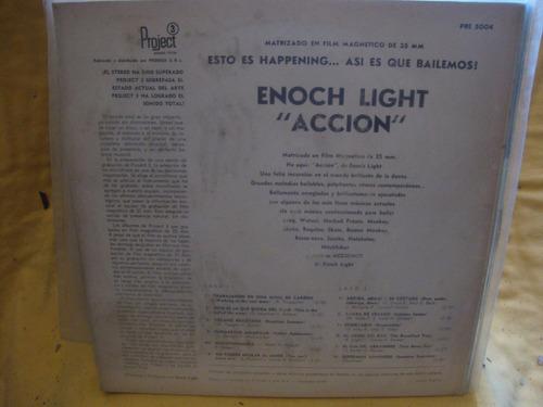 vinilo enoch light action it s happening so let s dance p4