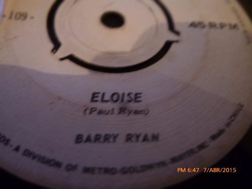 vinilo ep  - barry ryan  -amor casi te encontre ( a14