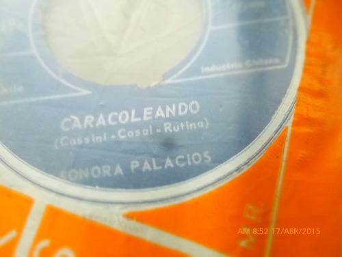 vinilo ep  de la sonora palacios -caracoleando    ( s33