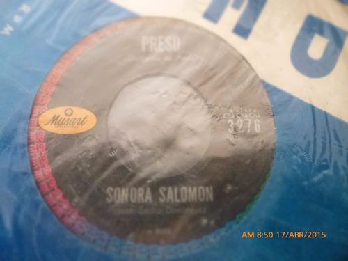 vinilo ep  de sonora salomon -preso   ( s31