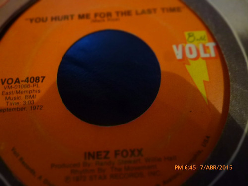 vinilo ep  -  inez foxx  --watch the dog ( a23