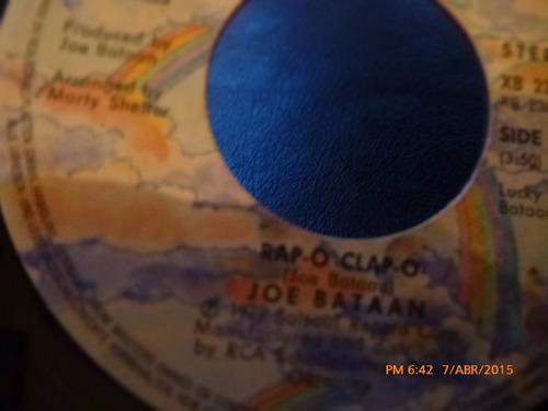 vinilo ep  -  joe bataan - rapa - o - clap - o( a44