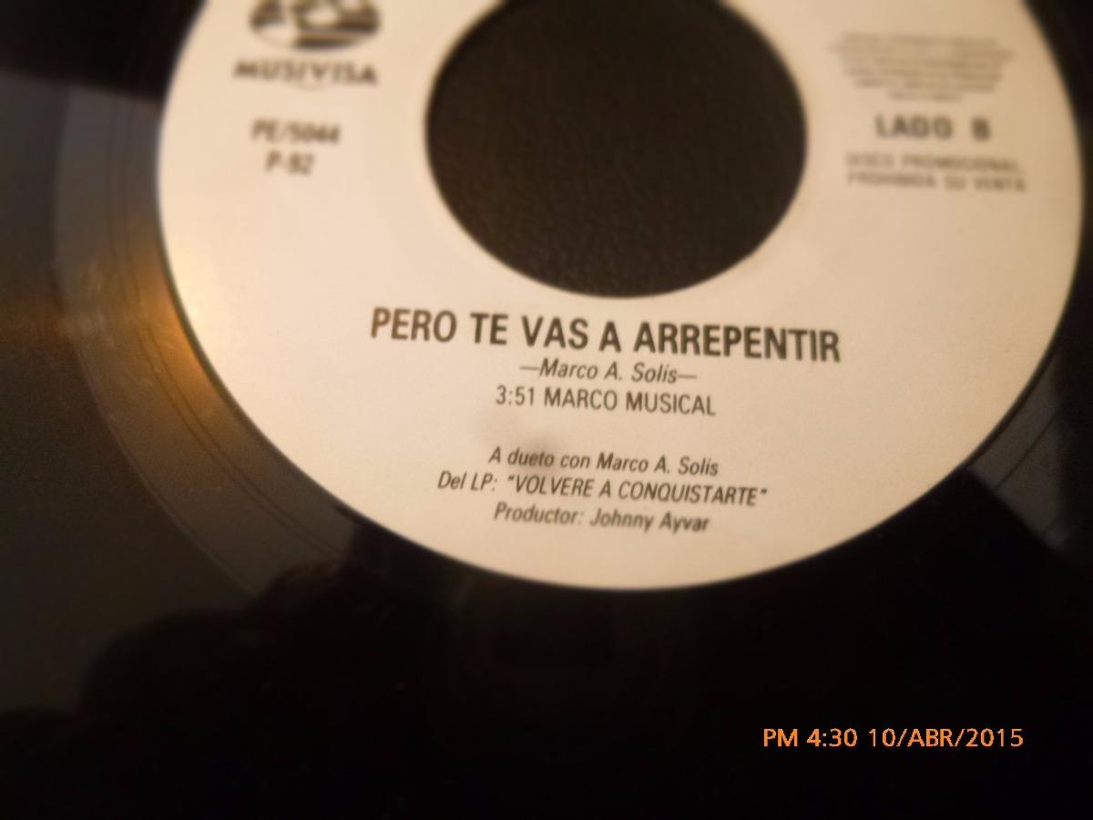 Vinilo Ep -- Marco Antonio Solis - Los Yonics ( A46 - $ 5.500 en ...