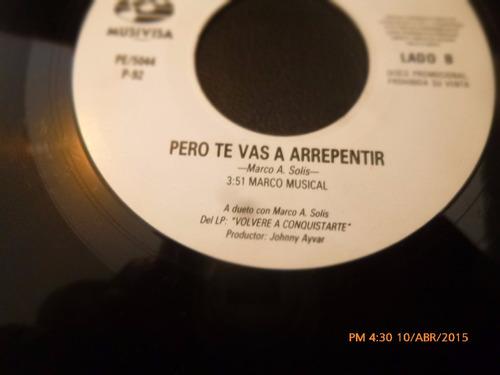 vinilo ep -- marco antonio solis - los yonics (a726
