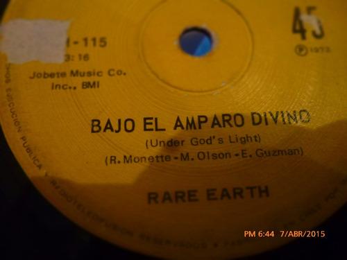vinilo ep  -  rare earth - bajo el amparo divino ( a27