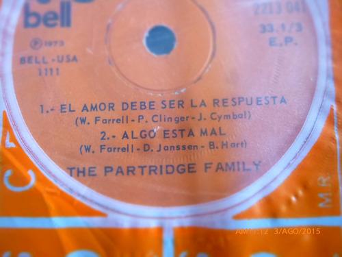 vinilo ep  the partridge family -- algo esta mal ( b72