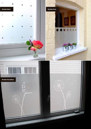 vinilo esmerilado con diseños para ventanas o mamparas!!!