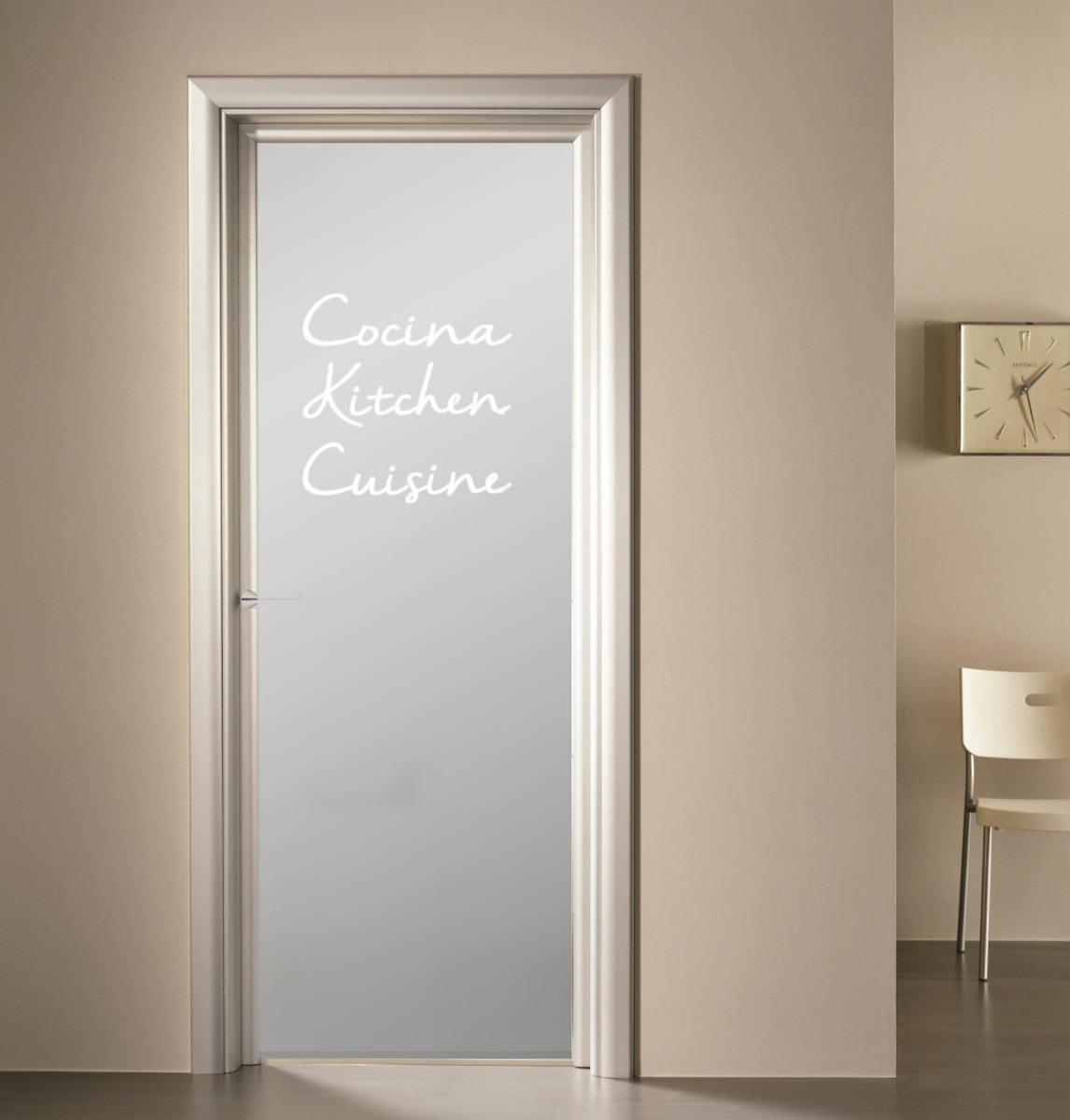 Cristales Para Puertas De Cocina. Affordable Sistemas De Puertas ...