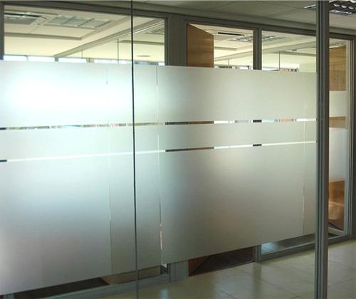vinilo esmerilado opalizado 200x60cm especial para vidrios