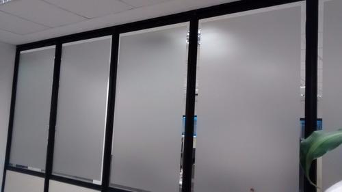 vinilo esmerilado para vidrios privacidad - translucido