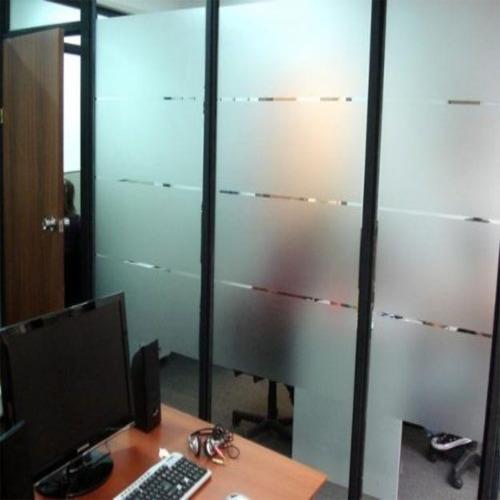vinilo esmerilado privacidad - film - p/ hacer franjas