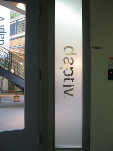 vinilo esmerilado x metro lineal 1,20m - vidrios y ventanas