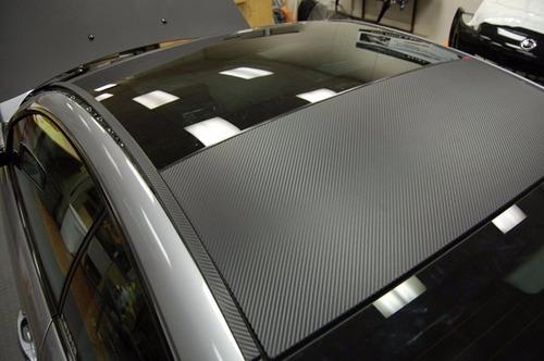 vinilo fibra carbono tuning