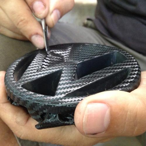 vinilo fibra de carbono moldeable y texturado (50cm x 50cm)