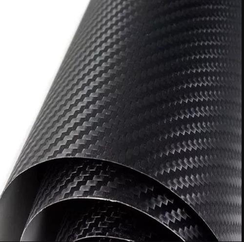 vinilo  fibra de carbono negro 150 cm x 100 cm