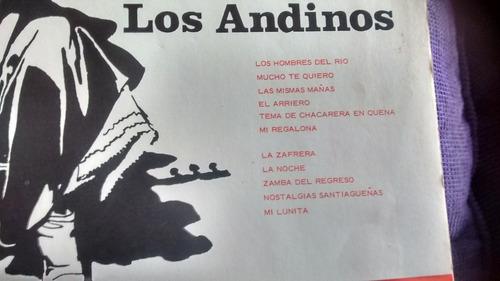 vinilo folklore argentino los andinos (los hombres del rio)