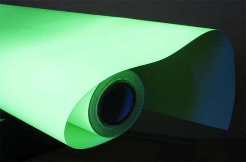 vinilo fotoluminiscente seis horas rollo