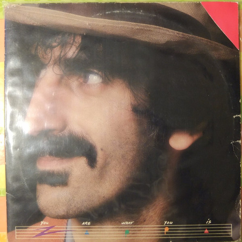 vinilo frank zappa    you are what you is  2lp