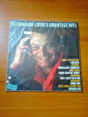 vinilo frankie laines greatest hits.