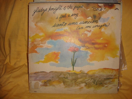 vinilo gladys knight and the pips i feel a song siento sl p2